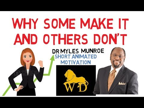 OBEDIENCE TO LAWS GUARANTEES SUCCESS - Dr Myles Munroe