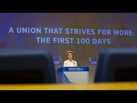 Οι πρώτες 100 μέρες της γεωπολιτικής Κομισιόν