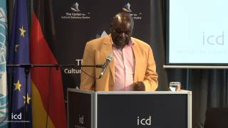 Edson Chiota, CEO, Zimbabwe Association for Crime Prevention and Rehabilitation of the Offender