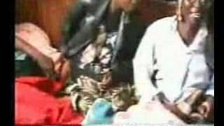Morgan Tsvangirai in hospital speaking to BBC reporter.