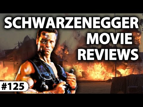 ARNOLD SCHWARZENEGGER Reviews ( Commando + Predator + Kindergarten Cop + The 6th Day + Sabotage )