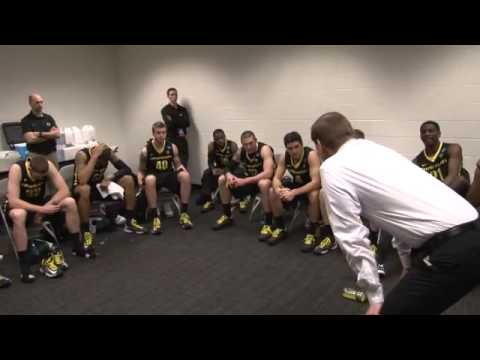 Oregon Ducks 2013 NCAA Tournament: Men's Basketball Post-Game Saint Louis Celebration