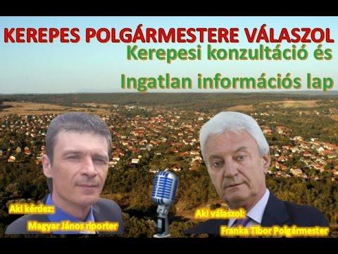 Kerepes Polgármestere válaszol 26. - 2016.11.22. - Kerepesi konzultáció - Információs lap