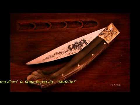 I coltelli gioiello dorgalesi di Ivan Pira