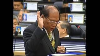 Lubok Antu Malaysia  city photo : Parlimen Malaysia : Angkat Sumpah YB William @ Nyallau Anak Badak (Lubuk Antu)
