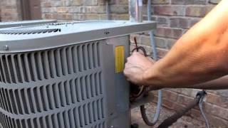 Video AC fan not working - how to repair broken HVAC Run Start Capacitor - air condition MP3, 3GP, MP4, WEBM, AVI, FLV Juni 2018