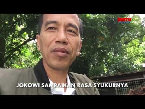 Kambing Peliharaan Lahir, Jokowi Anggap Sebagai Optimisme