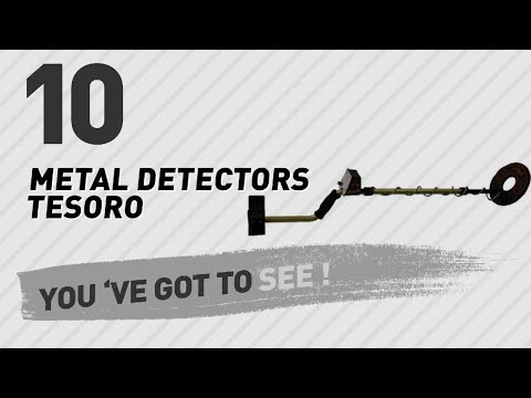 Metal Detectors Tesoro // New & Popular 2017