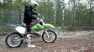 8. KX 250 FMF Gnarly Pipe test 2