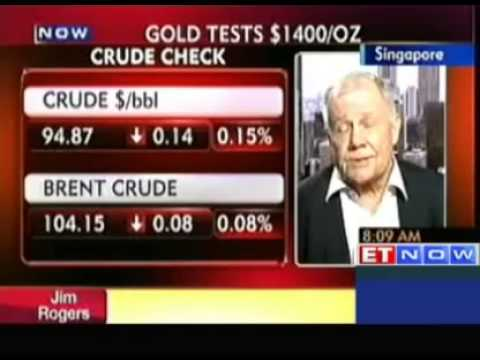 Gold Price Correction Can Continue & Make a New Bottom : Jim Rogers