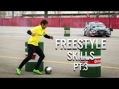 freestyle - Neymar Jr Freestyle Skills (Warm Up) 2014 Pt.3 ✓ Subscribe to my new channel: https://www.youtube.com/NeymarOff Part 1: http://youtu.be/lqRh6yjWw0A Part 2: http://youtu.be/VwkkxoRFgvo ----------...