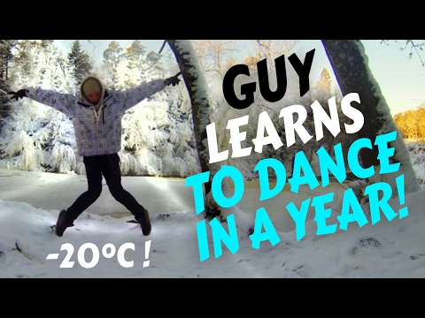 Guy learns to dance in a year Time Lapse