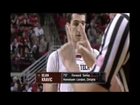 Dejan Kravic Texas Tech 2013-14 Highlights