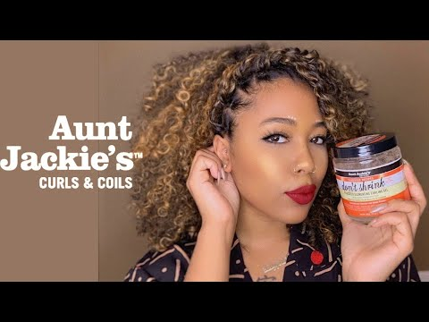 Curly hairstyles - #curlyhair Styling with Aunt Jackie's Curls  FROtorials