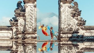 Gates of Heaven, REAL or FAKE? | BrooklynAndBailey & KamriNoel in Bali by Cute Girls Hairstyles