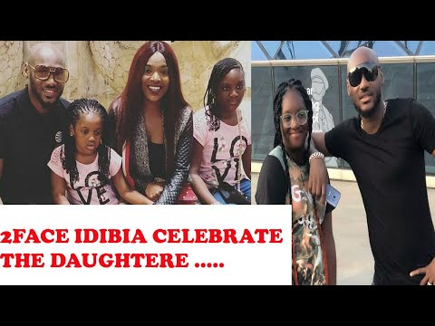 2FACE IDIBIA AND FAMILY CELEBRATE THEIR DAUGHTER ISABELLA AS SHE CLOCKS ''12''.........