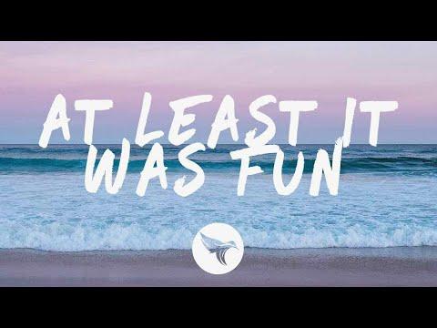 JVNA - At Least It Was Fun (Lyrics)