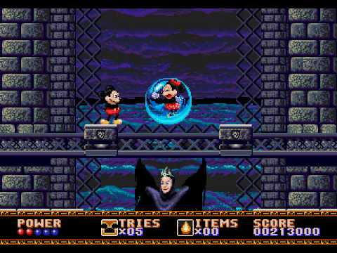 castle of illusion starring mickey mouse sega rom