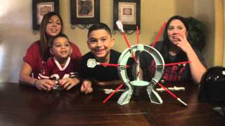 Damian, Deion and their Aunts Eleina and Erelyn do the Boom Boom balloon challenge Star Wars Edition! Blowing up the death star!! Follow us: https://instagra...