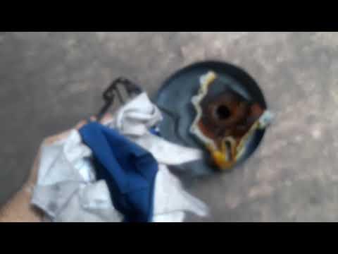 Vazamento de óleo Cross fox 2009 1.6 motor AE111 vw