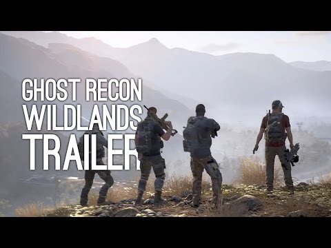 tom clancy's ghost recon wildlands gameplay trailer