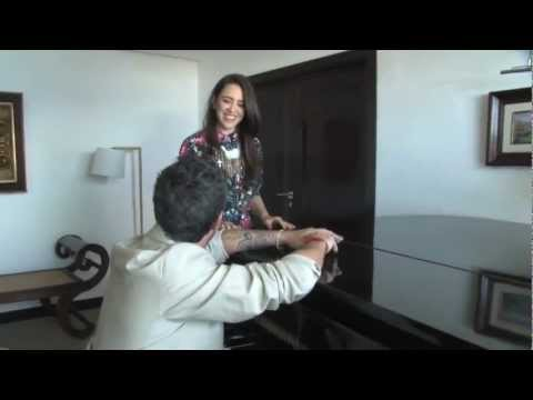 Roberta Sá grava com Alejandro Sanz