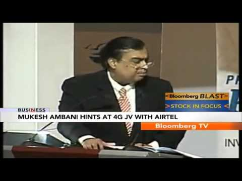 In Business- Reliance JV With Airtel?