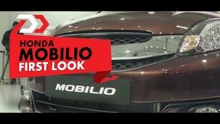 Honda Mobilio : First Look