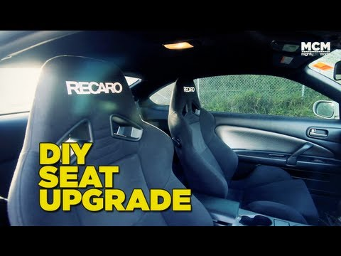 seats - In this episode of Mighty Car Mods the boys install a set of Recaro SR7's into the S15 Silvia. Join in discussion on this video here: http://forums.mightycar...