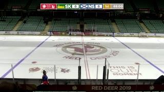 2019 CWG - Men's Hockey - Game 28 - NS vs SK
