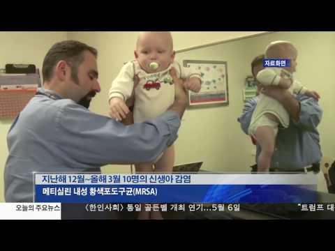 신생아 10명 '슈퍼박테리아' 감염 4.14.17 KBS America News