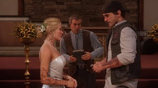 Days Gone - Sarah & Deacon's Wedding Trailer by GameTrailers