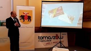 Strefa Płatnego Parkowania, Mieszkanie Plus, Karta Tomaszowianina - konferencja prasowa