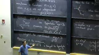 Lec 13 | MIT 18.02 Multivariable Calculus, Fall 2007