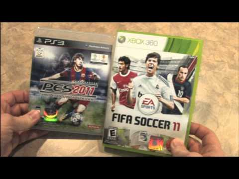 Classic Game Room - FIFA 11 vs. PES 2011 review