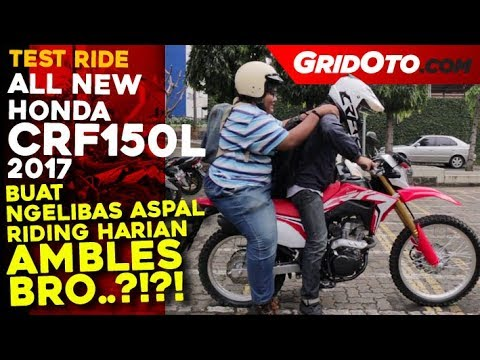 Honda CRF150L L Test Ride Review L GridOto