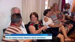 Dia do Ferroviário: grupo se reúne para comemorar a data e relembrar momentos marcantes