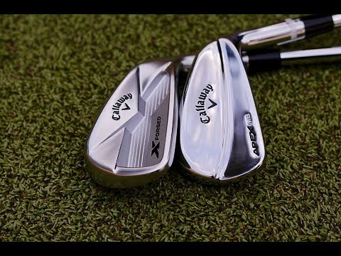 CALLAWAY X FORGED 18 APEX MB RELEASED LIVE (видео)