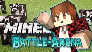 Minecraft: How To Kill Cows! Battle-Arena EXPRESS w/Mitch&Friends!