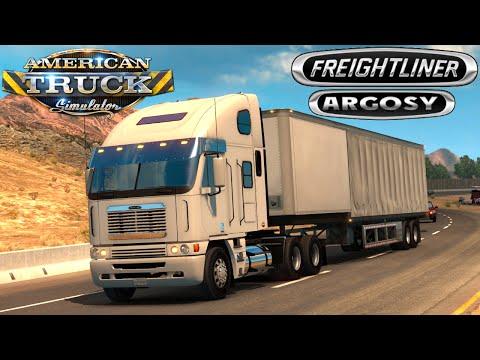 Freightliner Argosy Reworked v2.1 for ATS
