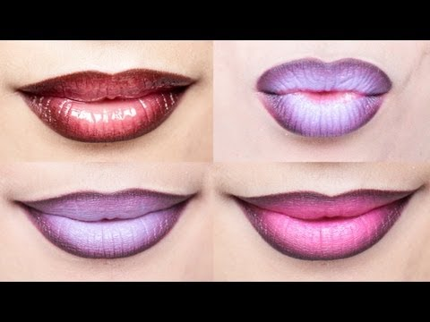 lips - Ombre Lips are a fun way to add some pop to your lips! If you enjoyed this video, please