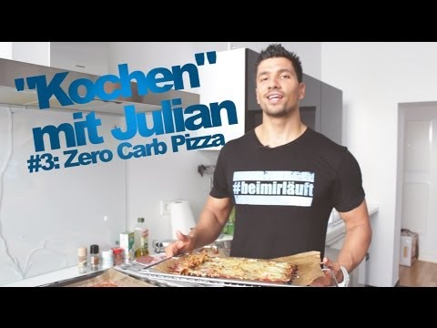 Zero Carb Pizza Rezept -