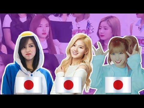 Twice when Momo, Sana & Mina Speaking Japanese