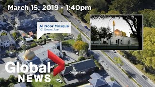 New Zealand shooting: Timeline of mosque attack