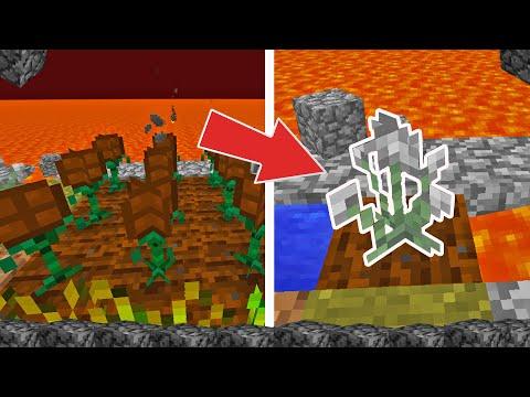 Çiçek Sınırsız Taş Veriyor ( GARİP CRAFT SİSTEMİ!! ) | Minecraft YAM YAM MOD #2
