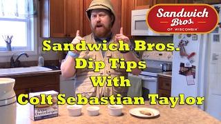 Sandwich Bros. Dip Tips