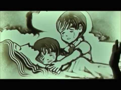 Sand art The Little Child (Vietnam_to be moved to tears) (VIDEO)