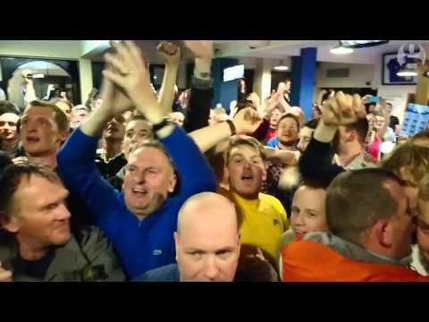Leicester Fans Celebrate League Win