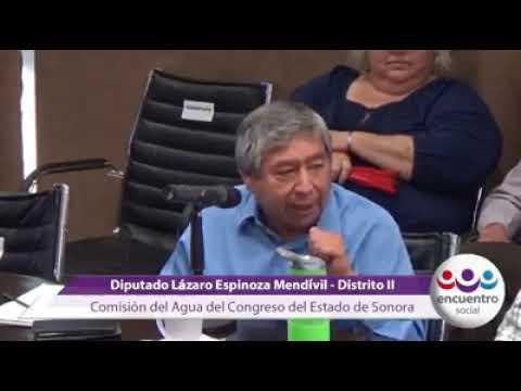 """Lázaro Espinoza Mendívil, manifestó en el foro """"Sonora sin plástico"""","""