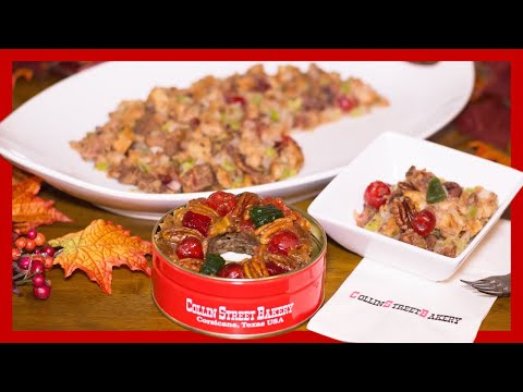 How To Make Stuffing with Fruit Cake